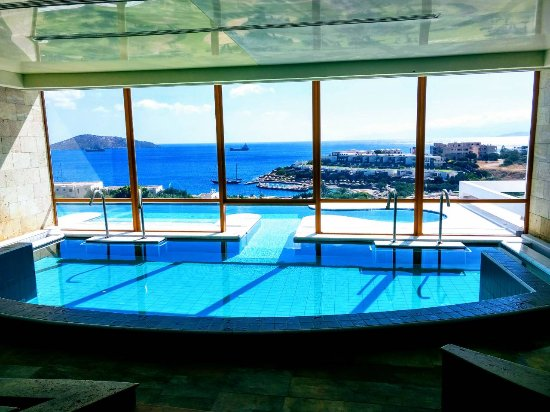 Swimming pool inside Spa. - Picture of Six Senses Spa at Porto ...