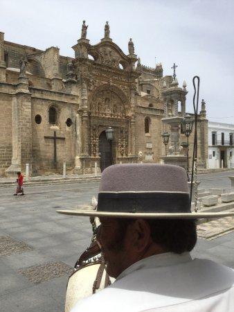 Catedral de Jerez de la Frontera : Paseo a caballo 2