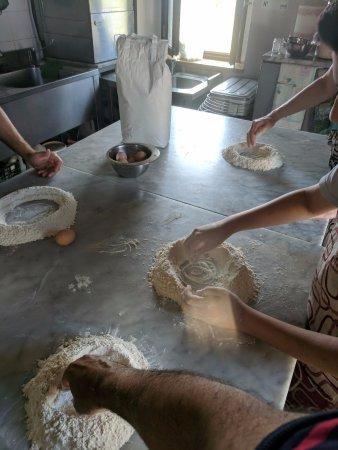 Casperia, İtalya: Cooking class