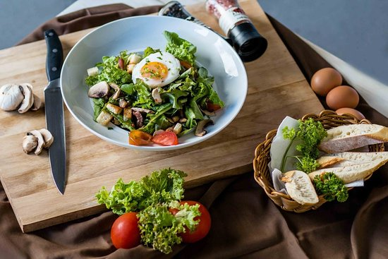 Sunset Cafe & Trattoria: Salade Sympathique