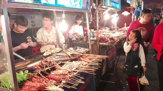 Nanning, China: 食べもののバリエーションが多いです