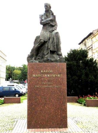 Monument to Karol Marcinkowski