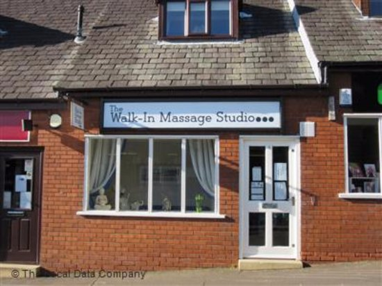 Garstang, UK: The walk in massagestudio