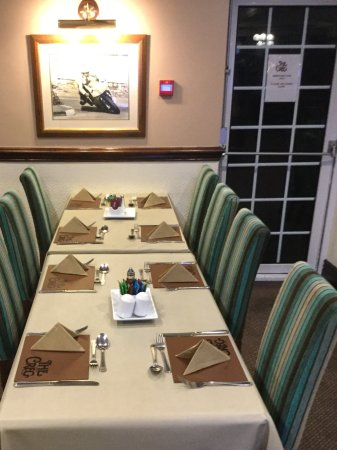 Onchan, UK: More dining room