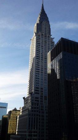 The Westin New York Grand Central: Chrysler Building from corner room.