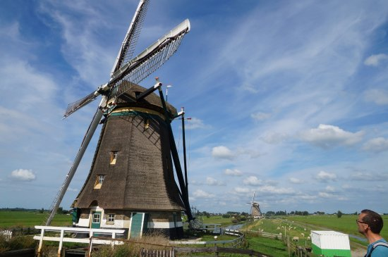 Aarlanderveen, Países Bajos: Middle Mill (with the Upper Mill at the backside)