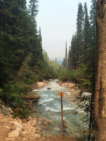 Rogers Pass, Kanada: Bear creek falls
