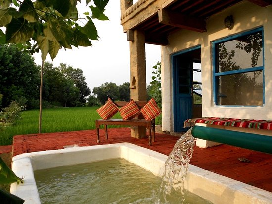 Gurdaspur District, India: Our plunge pool - Punjabi style