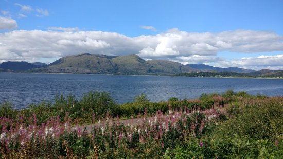 Oyster Inn: View travelling to Fort William on West Coast.