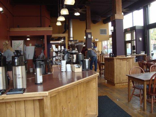 Rock Creek Coffee Roasters: Interior view!