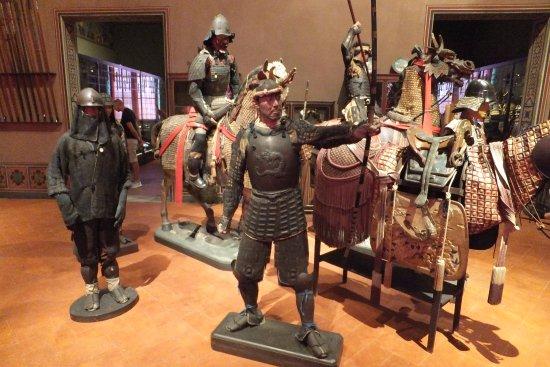 Museo Stibbert: sezione Samurai Giappone
