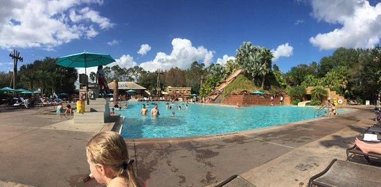 Disney's Coronado Springs Resort: The main pool