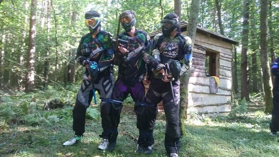 Copthorne, UK: Driver Wood Paintball