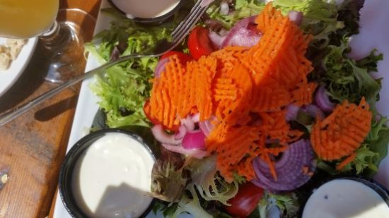 Charleston, WV: House Salad (impressive)