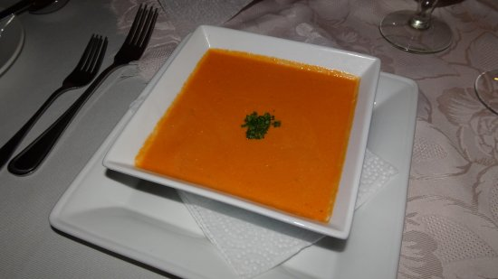 Seaview Lodge: Tomaten-Creme Suppe