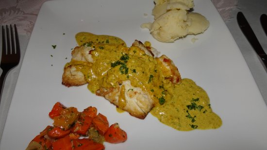 Seaview Lodge: Red Snapper mit Curry