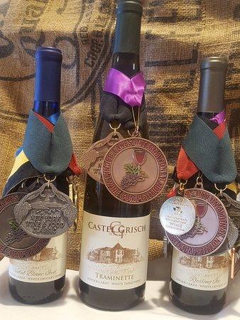 Castel Grisch: Awards