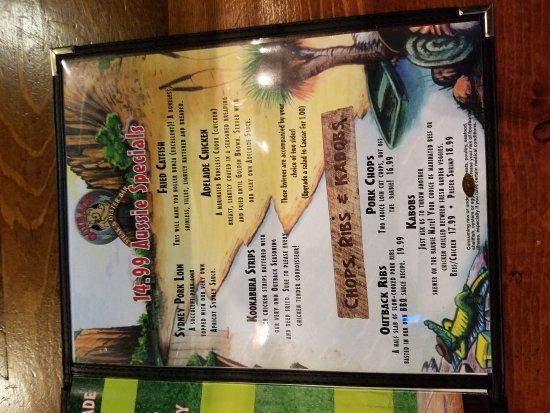 Outback Steak & Oyster Bar: Outback