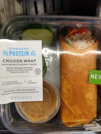 Chicken Wrap Picture Of Starbucks Woodbridge Tripadvisor