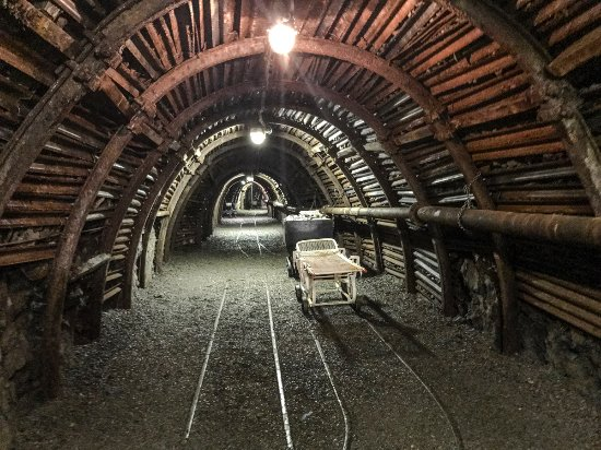 Blegny, Belgium: Another tunnel in the coal mine.