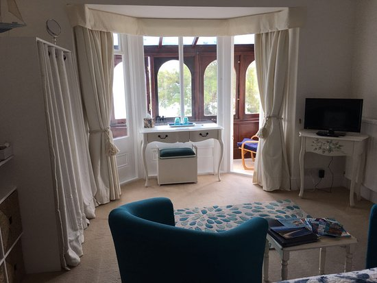Budleigh Salterton, UK: The Boathouse bedroom