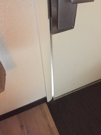 Elkhart, IN: Door doesnt close all the way, kept all personal items in the car at all times!
