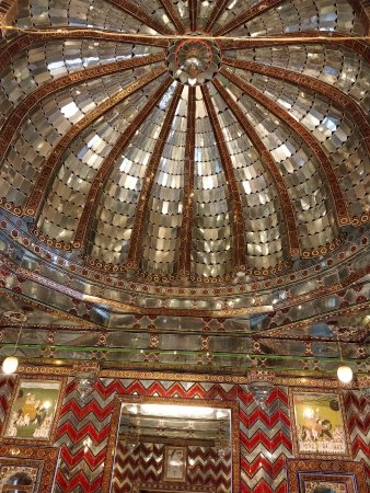 City Palace Government Museum: Glass ceiling