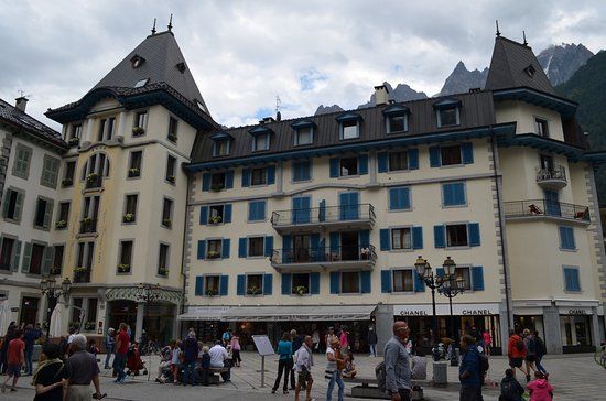 Grand Hôtel des Alpes Foto