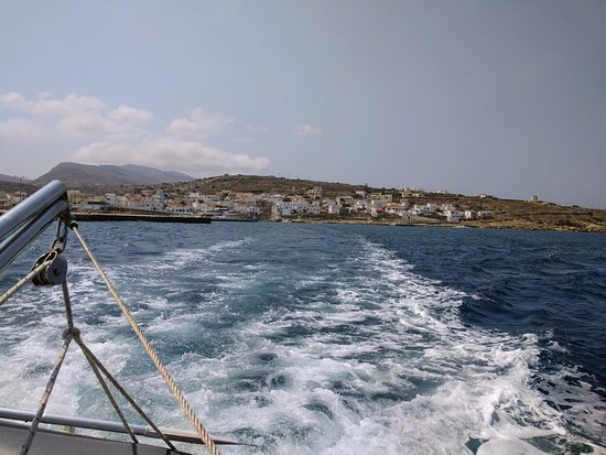 Kásos, กรีซ: View from Athina boat