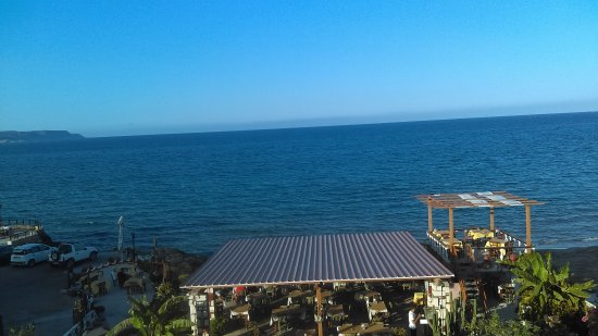 Akrogiali Taverna: View from our room