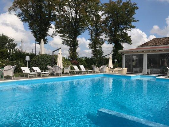 Relais Villa Roncuzzi: Vista diurna della piscina