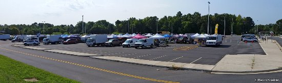 Overal view of the Spotsylvania Farmers Market