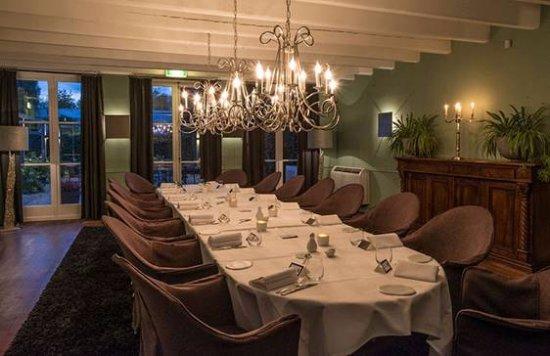 Vreeland, Países Bajos: Private dining ruimte, vergaderruimte met eigen terras op het zuiden