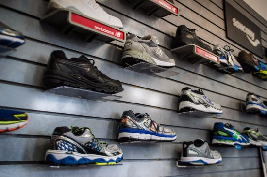 Somerset, KY: Huge selection of running shoes and socks. All of their shoes are podiatrist approves.