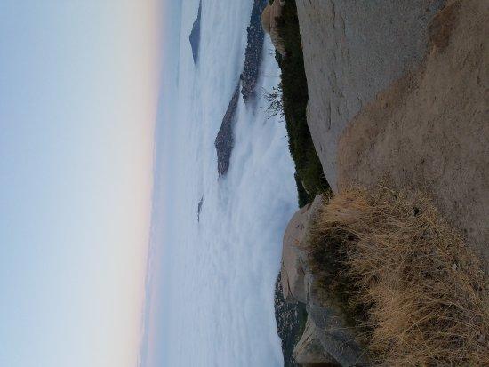 Poway, Californië: Potato Chip Rock