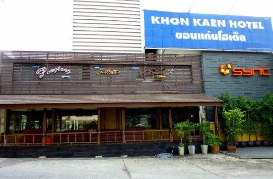 Khon Kaen Hotel : Unschöne Modernität.