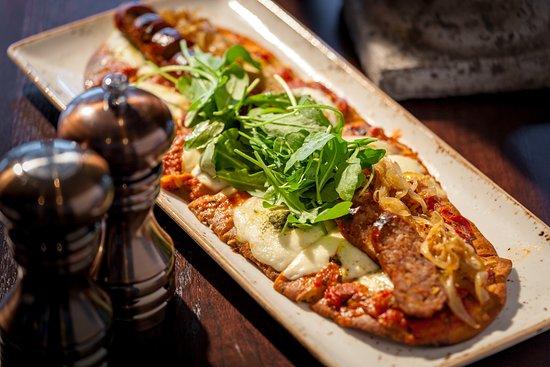 Romeoville, IL: Italian Sausage Flatbread