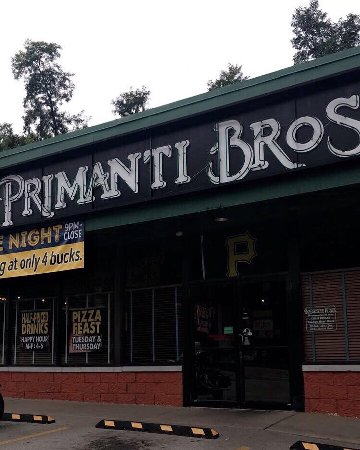 Primanti Bros.: View of sign and store front