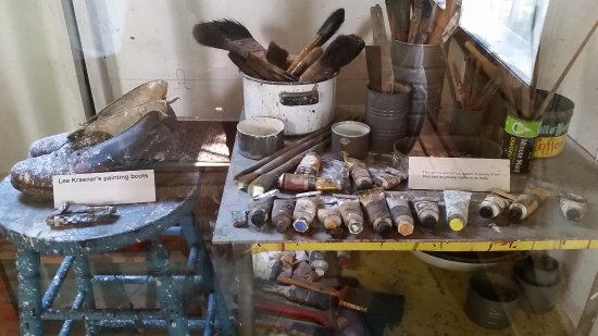 East Hampton, NY: Tools used by Pollock and Krasner