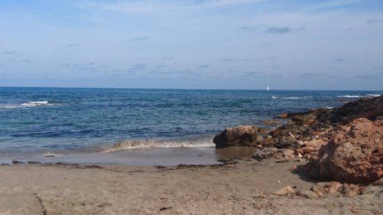 Punta Prima, Spania: one of the picturesque beaches