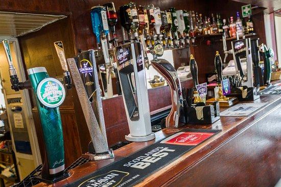 Lowick, UK: Bar