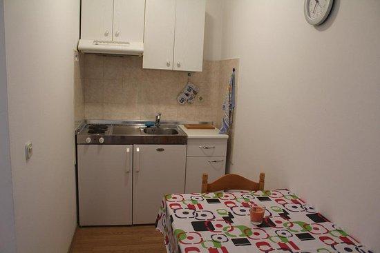 Rovinjsko Selo, Chorwacja: Kitchenette, floor studios
