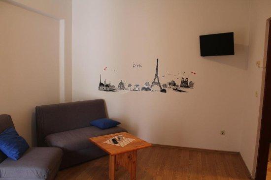 Rovinjsko Selo, Chorwacja: Living room, floor studios