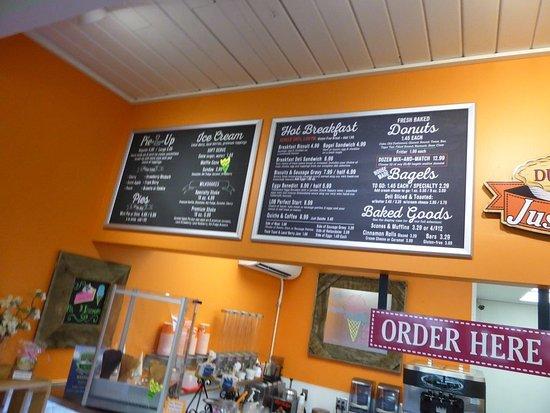 Lynden, WA: menu boards