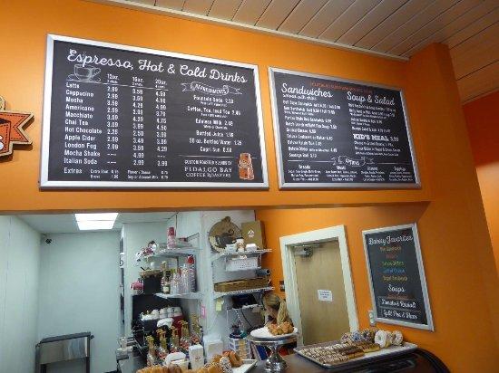 Lynden, WA: menu boards 2