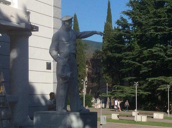 Sculpture Maksimka