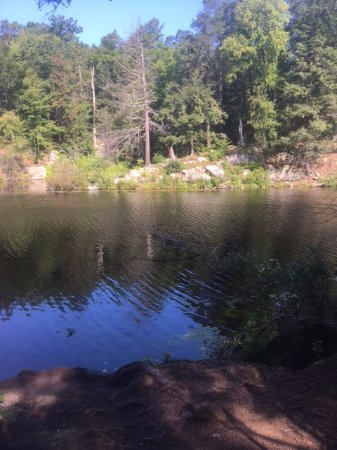 Fahnestock State Park: seen on the site