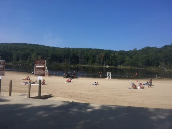 Fahnestock State Park: A crisp but lovely day in August