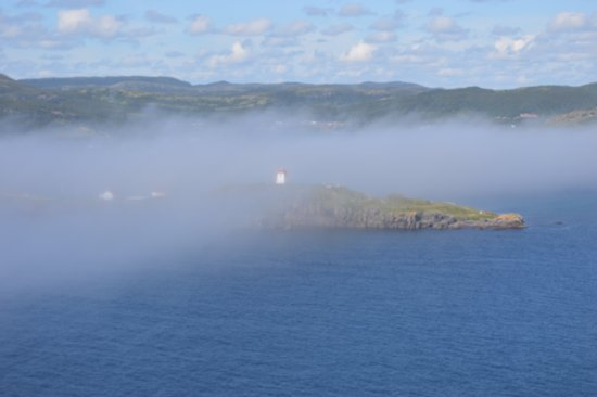Fishers' Loft Inn by Ship Cove: Trinity Lighthouse from the Skerwink trail. This is right out the back door of the INN