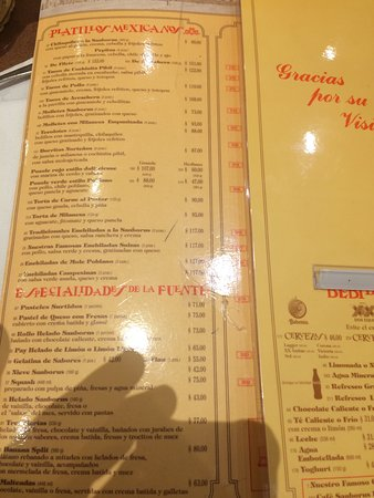 Sanborns citt del messico avenida paseo de la reforma for Sanborns restaurant mexico